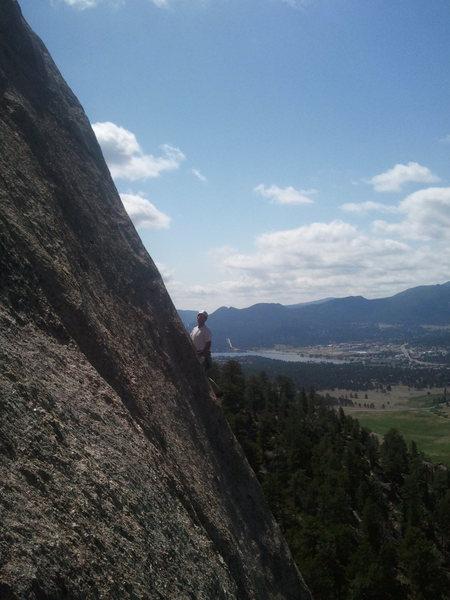 Rock Climbing Photo: John on J.