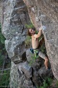 Rock Climbing Photo: Dean Hoffman sorting out the sweetness.  Photo Chr...