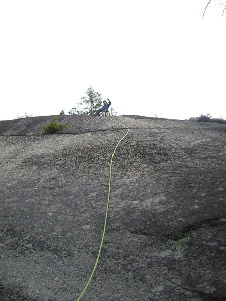 Rock Climbing Photo: One...