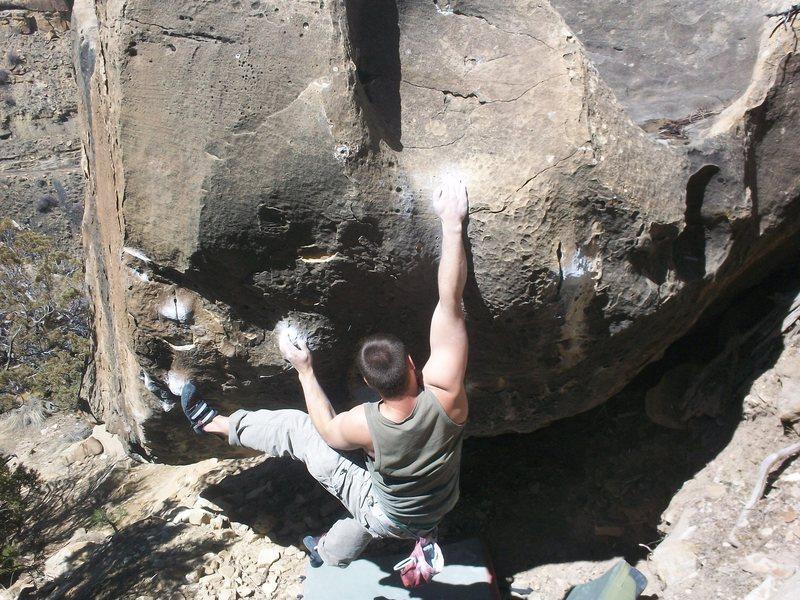 Rock Climbing Photo: v9