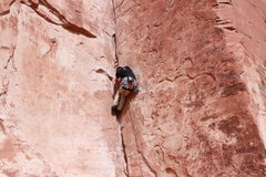 Rock Climbing Photo: Rick Barrett on 30 Seconds