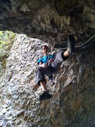 Rock Climbing Photo: Me (Chris Deulen) dogging it before working out th...