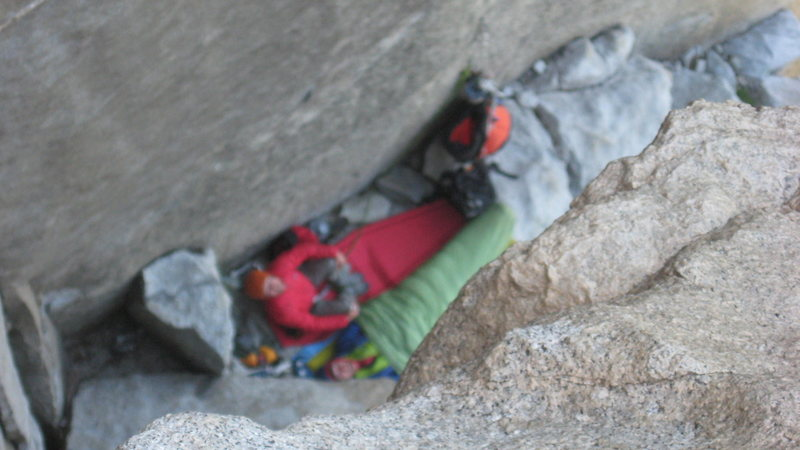 Rock Climbing Photo: Jesse and Jeremy enjoying their rest day while fre...