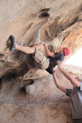 Rock Climbing Photo: Caveman, Joshua Tree