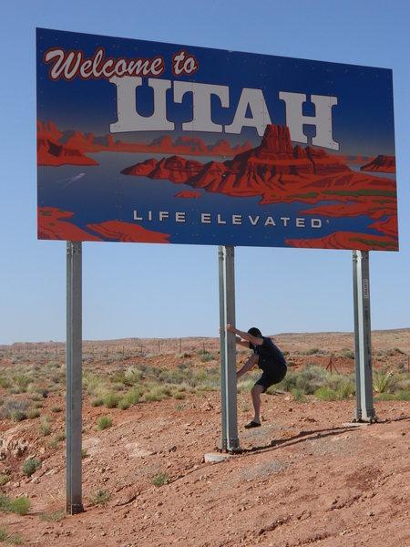 UT/AZ border