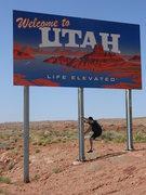 Rock Climbing Photo: UT/AZ border
