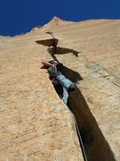 Rock Climbing Photo: headwall splitter