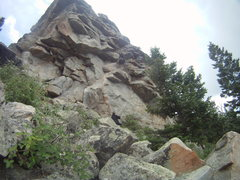 Rock Climbing Photo: Fairly good route, probably one of the better warm...