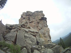 Rock Climbing Photo: Steeper than it looks but fun, it was raining, non...