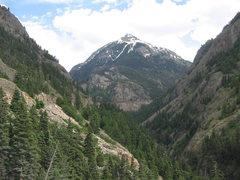 Rock Climbing Photo: Abrams Peak