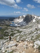 Rock Climbing Photo: Looking south towards the Snowy Range rock climbin...