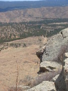 Rock Climbing Photo: West Creek from Sheep's Nose, South Platte, CO