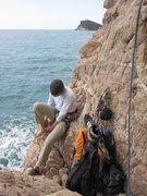 Rock Climbing Photo: At the base of I Pilastri.