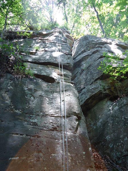 Rock Climbing Photo: Tradland Arete