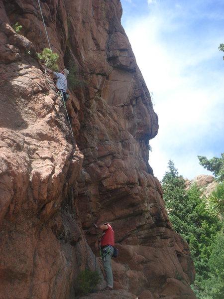 Rock Climbing Photo: Jason Poole climbing Turd Burglar.