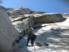 Rock Climbing Photo: Nathan Fitzhugh at the start of El Grandote. Does ...
