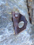 Rock Climbing Photo: Historic anchor bolt