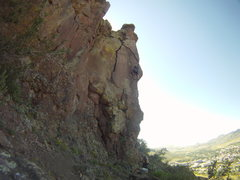 Rock Climbing Photo: Awesome route, one of the better routes on North T...