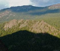 Rock Climbing Photo: outlines