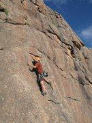 Rock Climbing Photo: Devli's Head - Passing Lane.