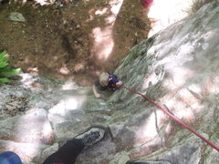 Rock Climbing Photo: Zackary on the start