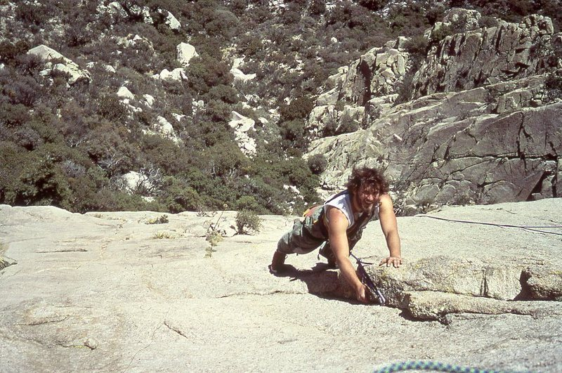 Rock Climbing Photo: Tooth:  Standard Route (ca. 1978)--photo probably ...