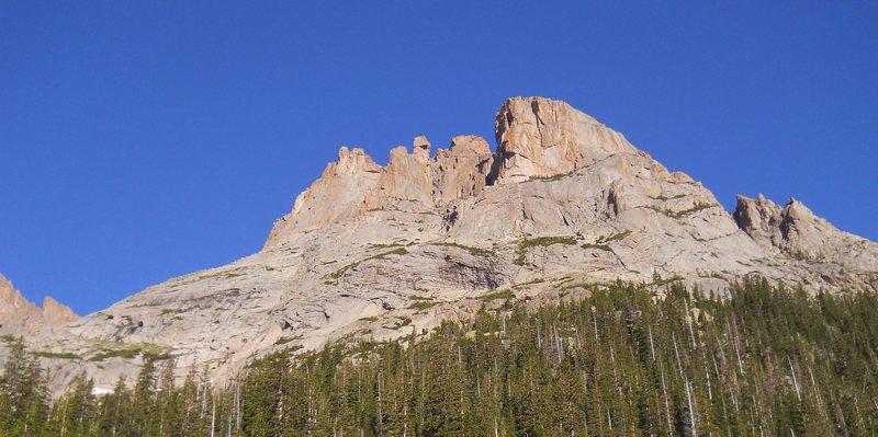 Rock Climbing Photo: [Arrowhead] near Black Lake.