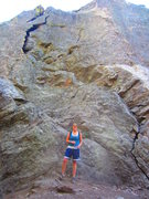 Rock Climbing Photo: DOMINATION! In front of Feet Do Not Fail Me Now & ...