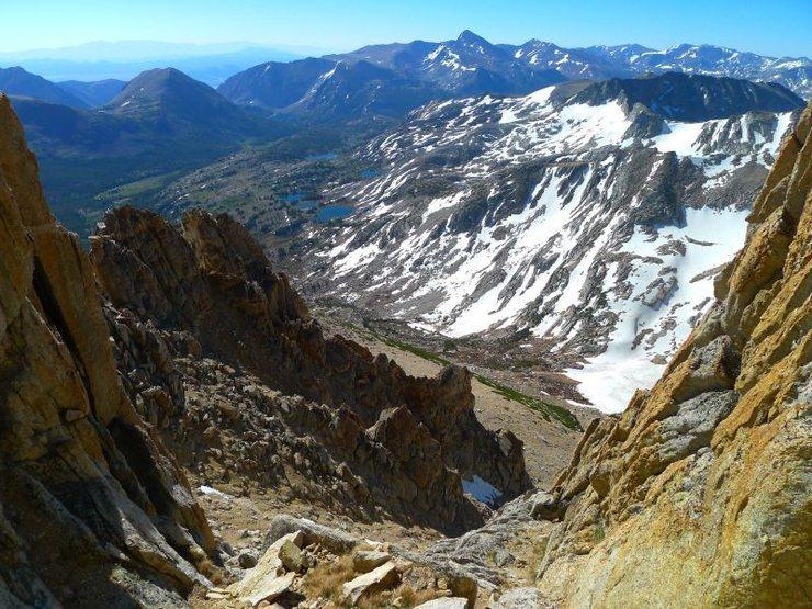 nearing the summit plateau