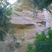 Rock Climbing Photo: Bat Crack...