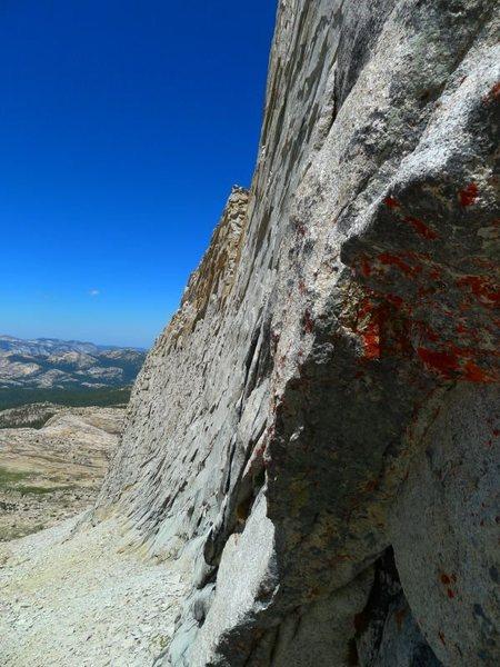 looking toward the W Ridge