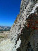 Rock Climbing Photo: looking toward the W Ridge