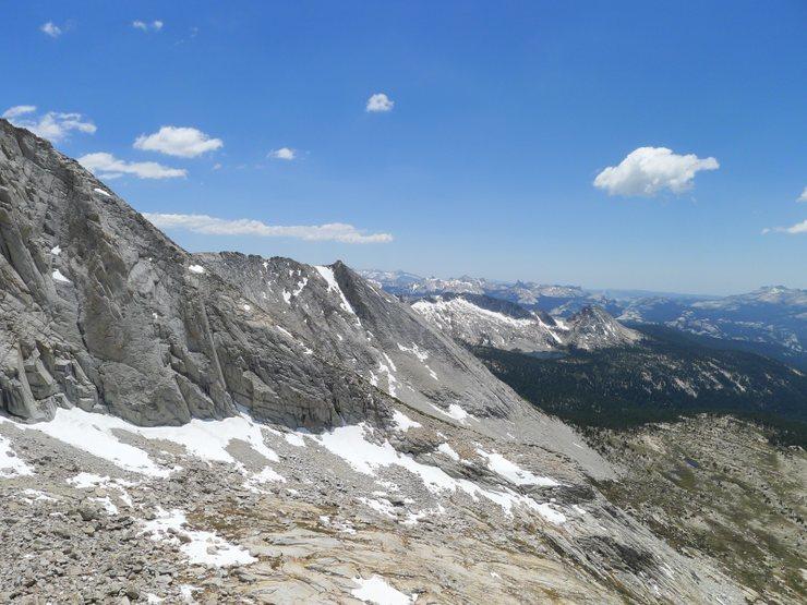 looking toward Yosemite