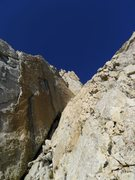 Rock Climbing Photo: final corner on P7
