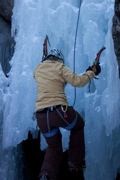 Rock Climbing Photo: 2011 Ice Climbing - Ouray, CO