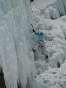 Rock Climbing Photo: 2011 Ice Climbing - Ouray, CO