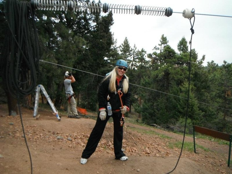 Rock Climbing Photo: 2012 CO Zip-Lining