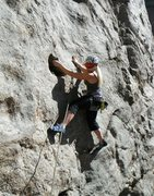 Rock Climbing Photo: 2012 Leading Cat Slab - Clear Creek Canyon, CO
