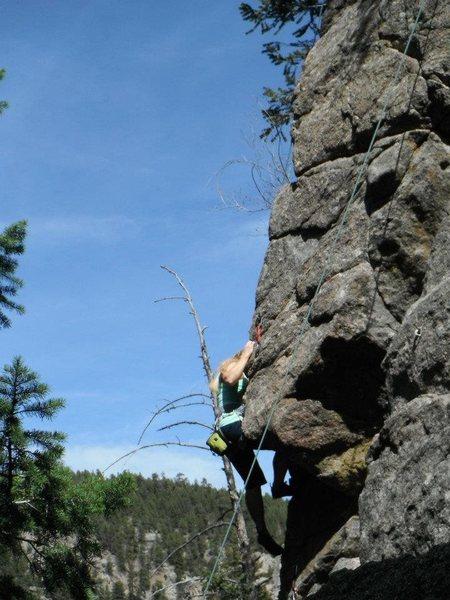 Rock Climbing Photo: 2012 Boulder Canyon