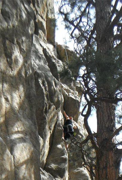 Rock Climbing Photo: 2012 Boulder Canyon 5.10