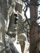 Rock Climbing Photo: 2012 Boulder Canyon 5.10