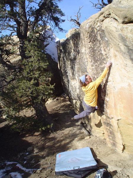 Cliffhanger Friday V-3, Libidozone, northern NM.