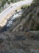 Rock Climbing Photo: Playin' Hooky.