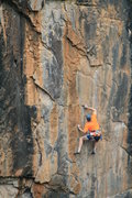 Rock Climbing Photo: Great moves.
