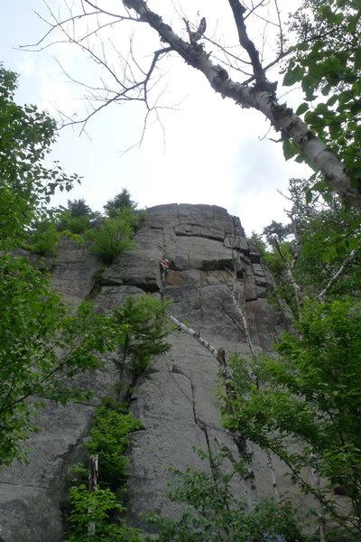 Climber on Yakapodu
