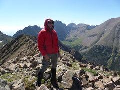 Rock Climbing Photo: Towards the Crestones