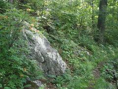 Rock Climbing Photo: bouldering trail start