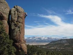 Rock Climbing Photo: Pocket Rocks west of Cedar City.