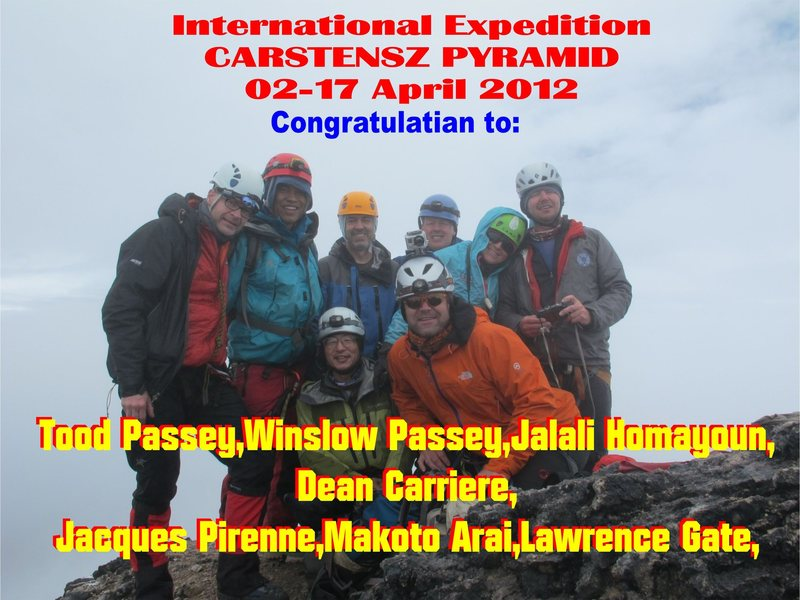 On Top Of Carstensz Pyramid