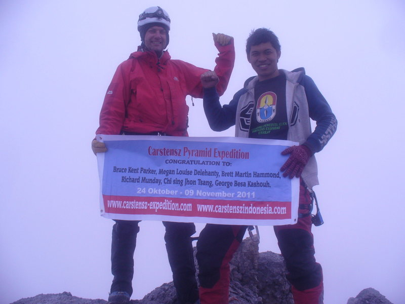 Top Of Carstensz Pyramid